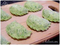Зеленое тесто для вареников