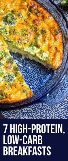 Try these high-protein, low-carb recipes for breakfast! All include Weight Watcher Points and nutrition. Womanista.com