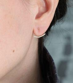 Catbird::shop by category::JEWELRY::Earrings::Coquette Ear Hugger, gold