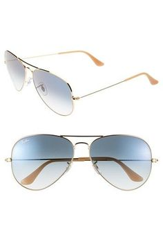 Ray-Ban  Large Original Aviator  62mm Sunglasses available at  Nordstrom Ray  Ban 344b42acdf61