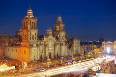 The cathedrals are beyond basic... Catedral Metropolitana de la Asunción de María, Mexico City, Mexico.