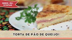 Torta de Pão de Queijo - Receitas de Minuto #140 Quiche, French Toast, Cooking, Breakfast, Recipes, Yummy Recipes, Sweet Recipes, Cheese Bread, Savory Snacks