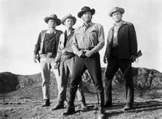 The Sons of Katie Elder- (1965)  John Wayne, Dennis Hopper, George Kennedy and Dean Martin.