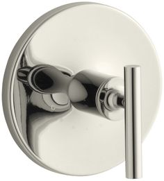Purist Valve Trim with Lever Handle for Thermostatic Valve