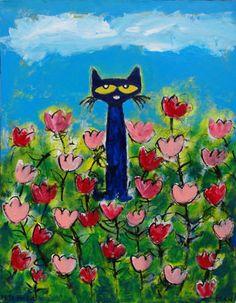 Pete the Cat   Tulips