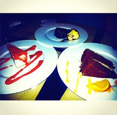 Fue un fin de semana muy dulce para paulamaralva: tarta de queso, tarta de zanahoria sin gluten y brownie