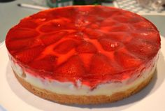 S is for Strawberry! Strawberry Torte