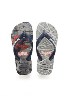 f1789a7ba2892 Havaianas Kids Top Marvel Spiderman Sandal Ice Grey Navy Blue Price From   ₩20