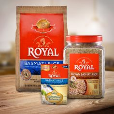 With this many variations of our delicious Basmati rice, you won't need to look elsewhere!