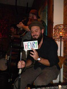 Henry at Morelock Music