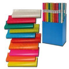 6 Rollen Geschenkpapier 200 x 70 cm Colour Mix Papier: Amazon.de: Küche & Haushalt