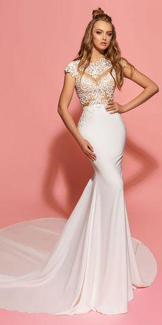 Designer Highlight: Eva Lendel Wedding Dresses ❤ See more: http://www.weddingforward.com/eva-lendel-wedding-dresses/ #weddings
