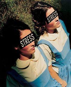 Stress - colagem digital