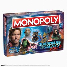 What's more awesome than Star-Lord's Awesome Mix Vol. 1? Adding Awesome Mix Vol. 2 to the galactic playlist! With the upcoming Guardians of the Galaxy version of the world famous property trading game you'll be able to play with tokens representing the crew of the Milano, as well as other denizens of the cosmic corner of the Marvel Cinematic Universe.