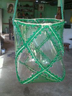 Bolso de botella plastica