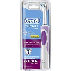 Chollo en Amazon España: Cepillo eléctrico Oral-B Vitality CrossAction 2D por solo 20€ (un 28% de descuento sobre el precio de venta recomendado y precio mínimo histórico)