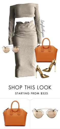 """""""Untitled #6963"""" by stylistbyair ❤ liked on Polyvore featuring Givenchy, Christian Dior and Diego Dolcini"""