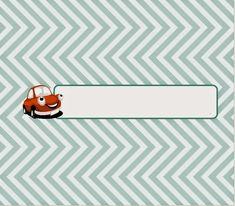 Candy bar wrappers--- BulutsMom: Kırmızı Vosvos Araba Temalı Doğum Günü Süsleri