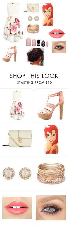 """""""Untitled #6"""" by moochiebabie on Polyvore featuring Charlotte Russe, Disney, Kate Spade, Red Camel, Fiebiger and Static Nails"""