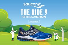 Το ολοκαίνουργιο Saucony RIDE 9 (S20318-2) είναι έτοιμο για τον δρόμο! Running Shoes, Shop Now, Sneakers, Shopping, Fashion, Runing Shoes, Tennis, Moda, Slippers