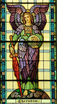 Cherubim: messenger of mercy or messenger of judgment