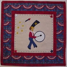 Patriotic pattern for sewers & crafters.  Easy!