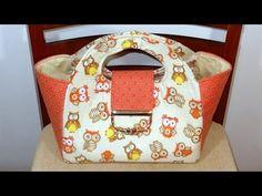 Bolsa em tecido das Corujas II - Patchwork Maria Adna - Bolsa em tecido com tema corujas - YouTube
