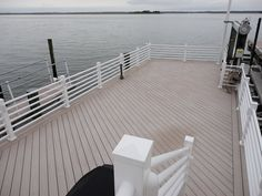 Such a beautiful deck at the shore. Could be yours too. Give us a call for a free estimate.