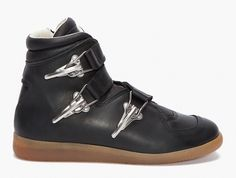 Maison Martin Margiela Leather Buckle Sneaker...these are for men, and 2 years old, but i want them. now.
