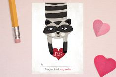 Love Bandit Classroom Valentine's Day Cards by Pistols at minted.com