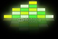 Leuchtwürfel weiss-gelb-grün
