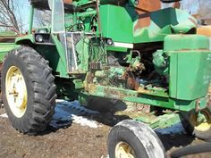 John Deere 4430 tractor salvaged for used parts. This unit is available at All States Ag Parts in Ft. Atkinson, IA. Call 877-530-3010 parts. Unit ID#: EQ-23951. The photo depicts the equipment in the condition it arrived at our salvage yard. Parts shown may or may not still be available. http://www.TractorPartsASAP.com