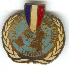 UNITED NATIONS UNIFIL(drapeau Français)