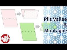 SÍMBOLOS DOS DIAGRAMAS                Débuter en Origami - Réaliser un pli Vallée et un pli Montagne [Senbazuru] - YouTube