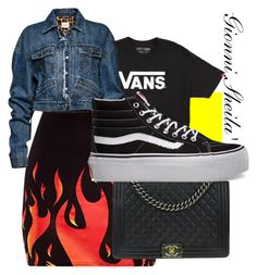 """Untitled #35"" by gionnisheila on Polyvore featuring Vans, Chanel and Magda Butrym"