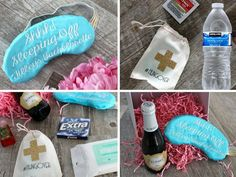 One of our favorite ways to spoil party guests is with adorable (and handy) bachelorette survival kits. We got the deets on how to make your own. Best Friend Wedding, My Best Friend, Wedding Showers, Bachelorette Party Favors, Survival Kits, Party Guests, Veil, I Am Awesome, Wedding Planning