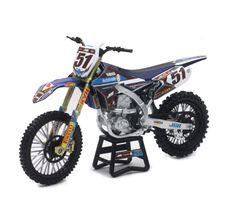 New Ray Toys Kawasaki KXF Motocross Vélo Modèle-échelle 1//12 Modèle 2 Pack