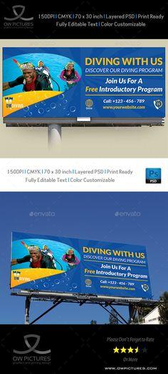 Billboard Template | Banner | Pinterest | Billboard and Template