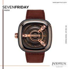 SEVENFRIDAY M2/02 . ÜRÜN KODU: SF-M2-02 . Fiziksel mağazamız ziyaret edebilir, dilerseniz sanal mağazamız üzerinden ürün ayrıntılarını inceleyebilir, güvenle alışveriş yapabilirsiniz; . www.permun.com . #Sevenfriday #permun #permunsaat #markasaatler #Bursa #saat #watch #time #clock #wristwatch #clockdesign #clockmaker #clockwork #menwatch #breitling #squadonamission #chronomat #automatic #greendial #diamonds #style #chic #elegance #sporty #womenwatches #luxury #swissmade #watches Rose Gold Highlights, Industrial Revolution, Suede Leather, Dark Grey, Watches, Copper Pipes, Accessories, Cast Iron, Layers