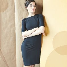 There's a reason some things never go out of style. A boat-neck LBD – classic.