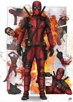 #Deadpool #Fan #Art. (Deadpool) By:MatthewHogben. (THE * 5 * STÅR * ÅWARD * OF: * AW YEAH, IT'S MAJOR ÅWESOMENESS!!!™)[THANK U 4 PINNING!!!<·><]<©>ÅÅÅ+(OB4E)