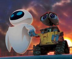 .. WallE and Eva...