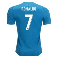 7fdc6e0f5 2017 2018 Cristiano Ronaldo Jersey Number 7 Third Authentic Men s Real  Madrid Team Real Madrid