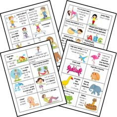 The Wiggle Jar Activity Cards FREE Printable from Homeschool Share Gross Motor Activities, Movement Activities, Gross Motor Skills, Sensory Activities, Therapy Activities, Educational Activities, Preschool Activities, Physical Activities, Preschool Yoga
