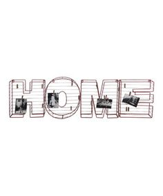 Love this Metal 'Home' Sign by VIP International on #zulily! #zulilyfinds