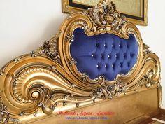 tempat-tidur-ukir-klasik Bed Headboard Design, Bedroom Bed Design, Bedroom Decor, Tv Unit Furniture, King Furniture, Classic Bedroom Furniture, Victorian Furniture, Vintage Headboards, Headboards For Beds