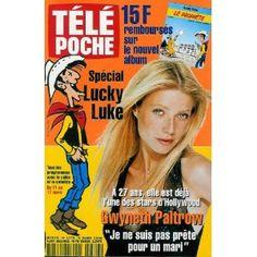 """Gwyneth Paltrow : """"Je ne suis pas prête pour un mari"""", dans Télé Poche n°1778 du 06/03/2000 [couverture et article mis en vente par Presse-Mémoire]"""