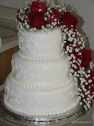 rose wedding cake - Google Search