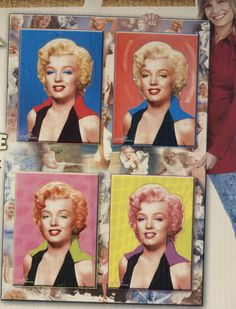 MARILYN MONROE: This jigsaw puzzle has 4,480 pieces and will measure 5 feet when finished. Great gift idea for the puzzler who loves the movies!