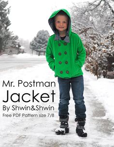 Mr. Postman Jacket - free pattern